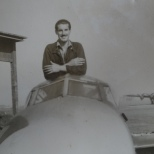 George Doughty and Mosquito. Photo Courtesy Pam Coates.